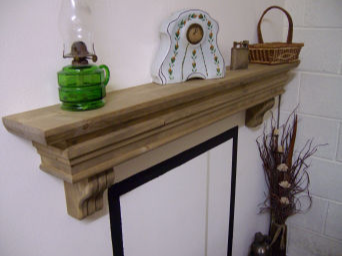Old World with Corbels Mantel Shelf